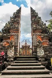 Hindu temple gate
