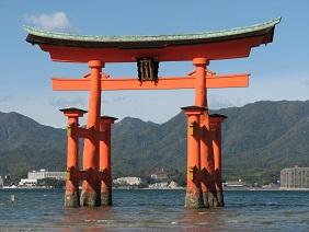 Shinto shrine gate