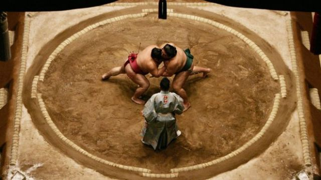 Sumo ring(from BBC news)