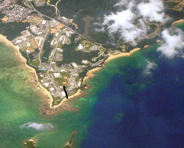 Henoko and Oura bay