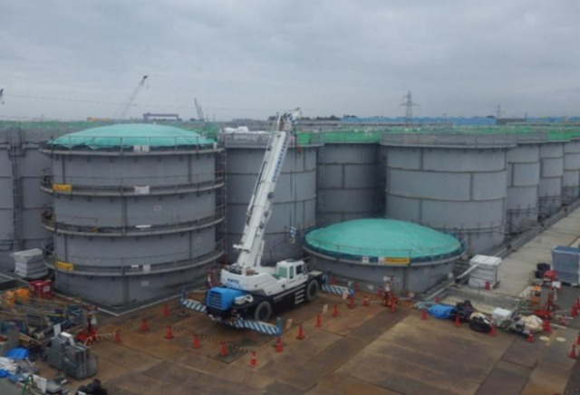 tanks at fukushima
